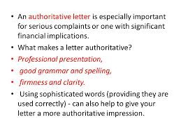 how to write a letter of complaint ppt video online download
