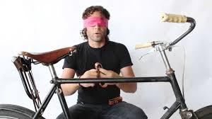 bicycle wine rack installation blindfolded youtube