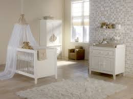Baby Mod Mini Crib Neutral Nursery Room Theme Color With Simple White Baby Mod