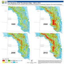 Waterfowl Migration Map Refuge System Hapet Region 6