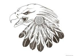 eagle tattoo clipart gallery native american eagle feather designs drawing art gallery