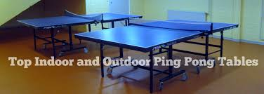 compare ping pong tables 2017 best table tennis tables reviews indoor outdoor killerspin