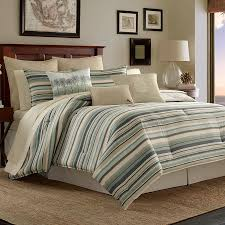 Tommy Bahama Rugs Outlet by Tommy Bahama Canvas Stripe Comforter Set Tropical Tommy Bahama