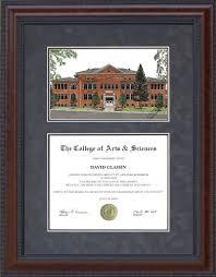 of michigan diploma frame diploma frame with eastern michigan emu