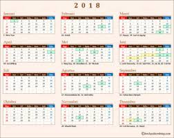 Kalender 2018 Hari Libur Indonesia Chocky Sihombing Travel Explore