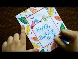 very easy greeting card diy beginners step by step guide speed