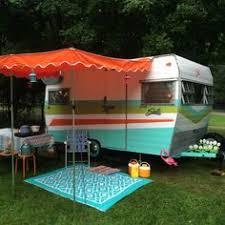 how to paint a vintage camper vintage campers camper makeover