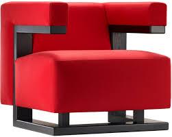 Bauhaus Sectional Sofa by Tecta F51 Kavallerietuch Rot Esche Massiv Schwarz Sessel Walter