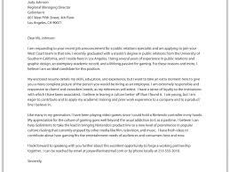 instructor cover letter sample cover letters for academic job