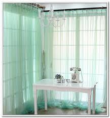 Seafoam Green Sheer Curtains Stylish Blue Green Sheer Curtains Designs With Seafoam Green Sheer