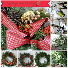 step by step how to make a wreath holiday wreath diy dear