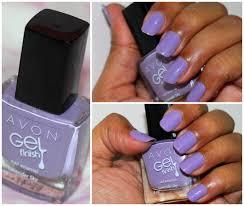 avon gel finish nail enamel u2013 parfait pink lavender sky be