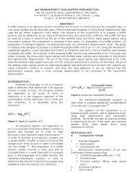 biochem expt 1 ph acid