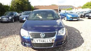 volkswagen eos 2007 petrol 2 0 manual convertible cheap cheap