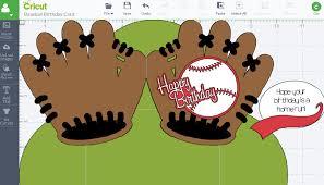 baseball birthday card cathy crafts