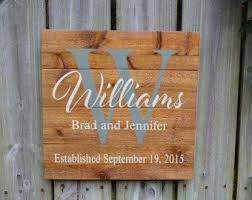 personalized wedding items pallet sign personalized name sign custom name sign wedding g