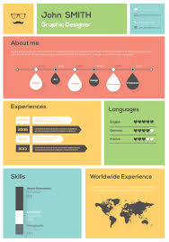 Create Best Resume by How To Create And Use An Infographic Resume Personal Branding