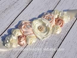 baby shower sash flower maternity sash baby shower gift sash gift photo