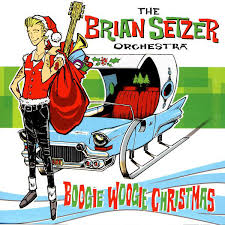 boogie woogie album cover by the brian setzer orchestra