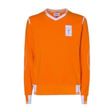 maserati orange men u0027s orange v neck sweater maserati classiche maserati