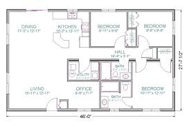 Ranch Home Plans With Basements 100 Open Floor Plans For Ranch Homes Floor Design S For