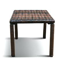 patio table with heater winsome rattan end table decor square small coffee table color