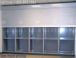 Office Cabinet With Doors Rolling Tambour Shelving Doors Locking Roll Up Security Door