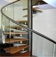 Stainless Steel Handrails For Stairs Stair Simple And Neat Image Of Home Interior Stair Decoration