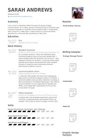 Office Assistant Resume Example by Resident Assistant Resume Samples Visualcv Resume Samples Database