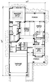 House Plans For Long Narrow Lots Narrow Lot House Plans Home Design Ideas