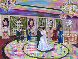 live event painting wedding painting delaware new jersey