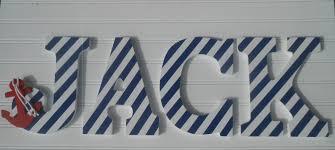 Sailboat Decor For Nursery Nautical Wall Decor Nursery Letters Nautical Nursery