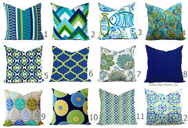 outdoor pillows or indoor pillow covers custom 18x18 20x20 all
