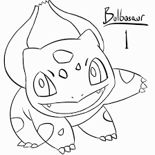 bulbasaur coloring pages plastica colorear pinterest