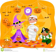 halloween kids background halloween kids party invitations festival collections halloween