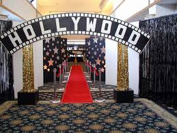 hollywood theme props by the prop factory via flickr homecoming