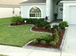 Landscaping Pictures For Front Yard - like the landscaping around the driveway for a small front yard