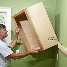 cabinet installing cabinets in kitchen installing kitchen