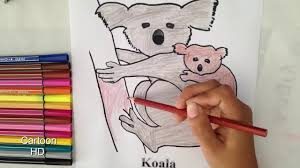 koalas coloring pages kids koalas coloring pages cartoon
