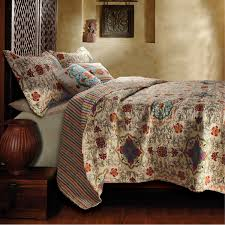5 oversized cotton quilt set with bohemian