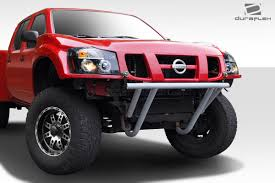 nissan frontier dimensions 2017 duraflex off road titan front end conversion 3pc body kit fits 05