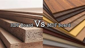 what is the difference between mdf and solid wood hdf vs mdf board differences which is better for cabinets