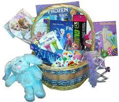 filled easter baskets disney frozen easter basket ideas infobarrel