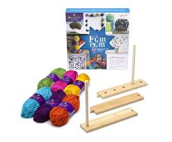 amazon com craft tastic pom pom kit toys u0026 games