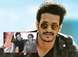 akhil hair style akhil akkineni gets inked for his next film with vikram kumar