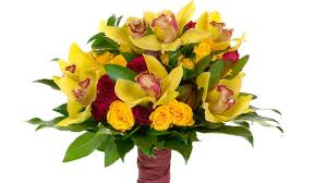 Yellow Orchid Sunshine Yellow Orchid Hand Tied Bridal Bouquet Youtube