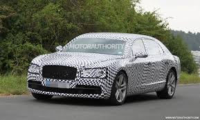 bentley flying spur 2014 2014 bentley continental flying spur v8 spy shots