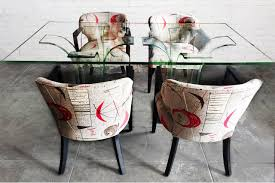 Modern Age Furniture by 1940s Modern Age Glass Dining Table And Chair Set Rehab Vintage