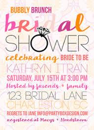 engagement brunch invitations bridal shower engagement