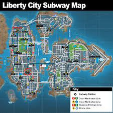 Subway Station Map by Mta Liberty City Subway Mta Metropolitan Transportation Authority